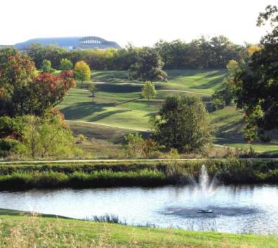 A. L. Gustin Golf Course,Columbia, Missouri,  - Golf Course Photo