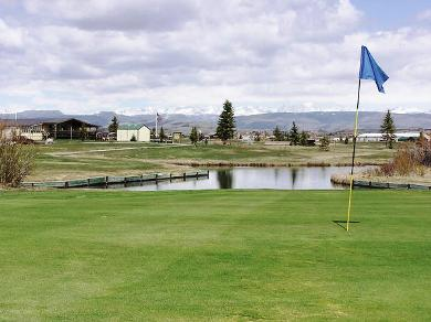 Rendezvous Meadows Public Golf Course, Pinedale, Wyoming, 82941 - Golf Course Photo