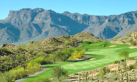 Gold Canyon Golf Resort, Dinosaur Mountain, Gold Canyon, Arizona, 85219 - Golf Course Photo