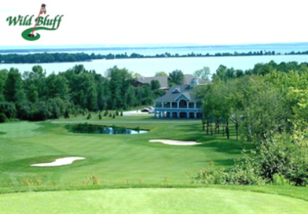 Wild Bluff Golf Course, Brimley, Michigan, 49715 - Golf Course Photo