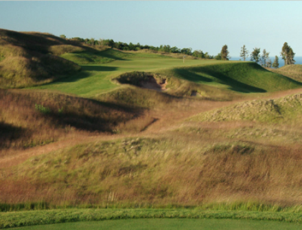 Golf Course Photo, Arcadia Bluffs Golf Course, Arcadia, 49613