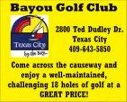Golf Course Photo, Bayou Golf Club, Texas City, 77590