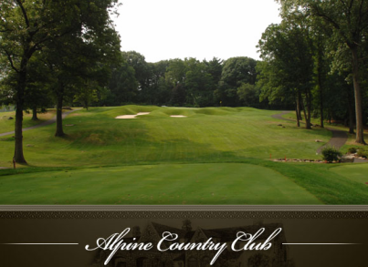 Golf Course Photo, Alpine Country Club, Demarest, 07627