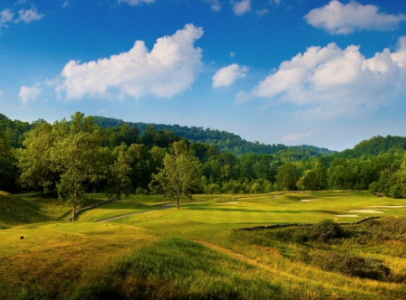 Pete Dye Golf Club, Bridgeport, West Virginia, 26330 - Golf Course Photo