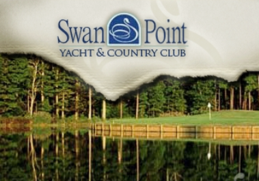 Golf Course Photo, Swan Point Yacht & Country Club, Issue, 20645