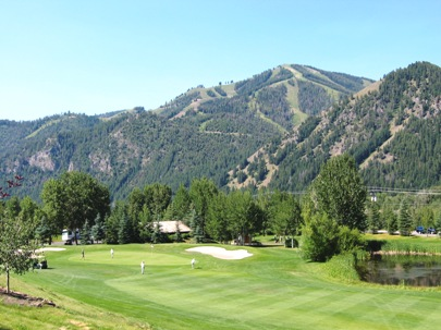 Bigwood Golf Course,Ketchum, Idaho,  - Golf Course Photo