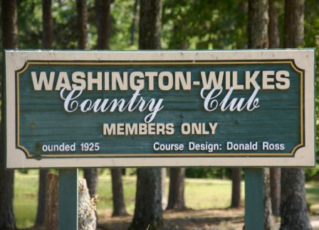 Washington-Wilkes Country Club,Washington, Georgia,  - Golf Course Photo