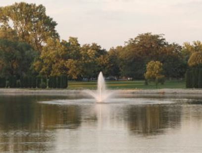 Golf Course Photo, Lakeside Country Club, Bloomington, 61701