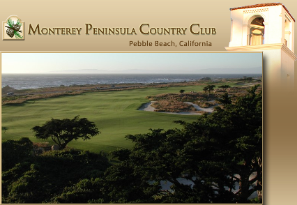 Monterey Peninsula Country Club, Shore Golf Course,Pebble Beach, California,  - Golf Course Photo