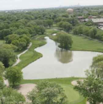 White Pines Golf Course - West,Bensenville, Illinois,  - Golf Course Photo