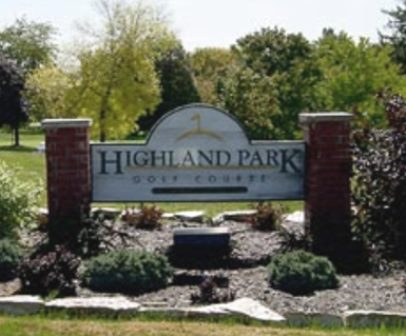 Golf Course Photo, Highland Park Golf Course, Bloomington, 61701