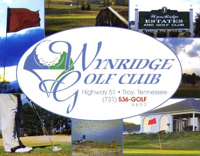 Wynridge Greens & Golf Club,Troy, Tennessee,  - Golf Course Photo