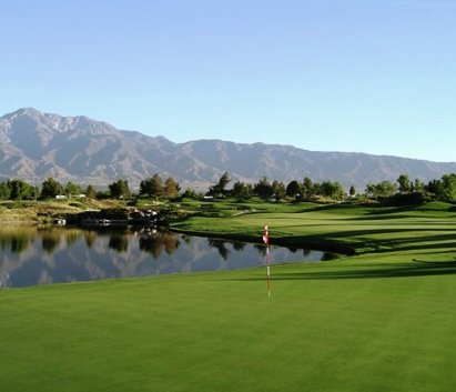 Empire Lakes Golf Course, CLOSED 2016,Rancho Cucamonga, California,  - Golf Course Photo