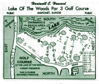 Lake Of The Woods Golf Club - Par 3,Mahomet, Illinois,  - Golf Course Photo