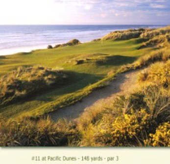 Golf Course Photo, Bandon Dunes, Pacific Dunes, Bandon, 97411
