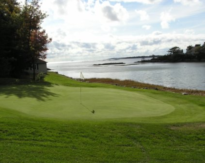 Shore Acres Golf Course At Sebasco Harbor Resort, Sebasco Estates, Maine, 04565 - Golf Course Photo