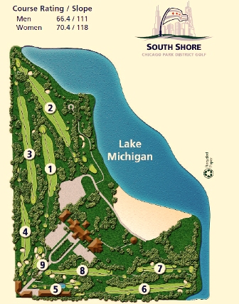 Golf Course Photo, South Shore Golf Club, Chicago, 60649