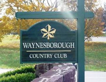Golf Course Photo, Waynesborough Country Club, Paoli, 19301