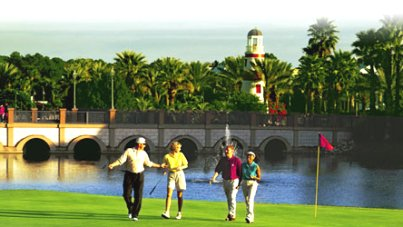 Disney World - Lake Buena Vista,Lake Buena Vista, Florida,  - Golf Course Photo