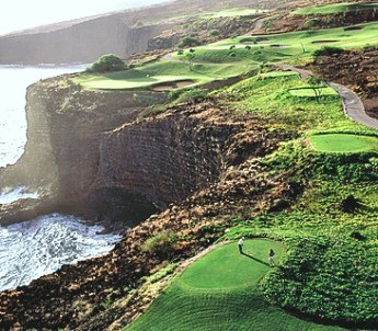 Manele Golf Course ,Lanai City, Hawaii,  - Golf Course Photo