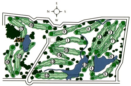 L A Nickell Golf Course, Columbia, Missouri, 65202 - Golf Course Photo