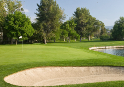 Valencia Country Club,Valencia, California,  - Golf Course Photo