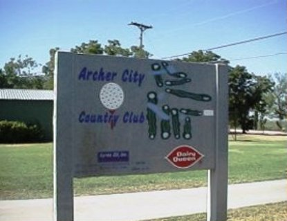 Archer City Country Club,Archer City, Texas,  - Golf Course Photo