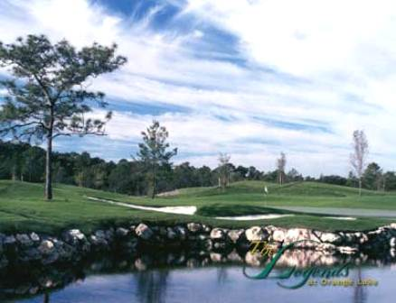 Golf Course Photo, Orange Lake Golf Resort, The Legends Golf Course, Kissimmee, 34747
