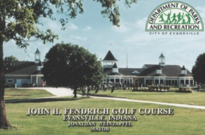 Golf Course Photo, John H. Fendrich Golf Course, Evansville, 47711