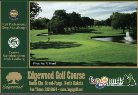 Edgewood Golf Course,Fargo, North Dakota,  - Golf Course Photo