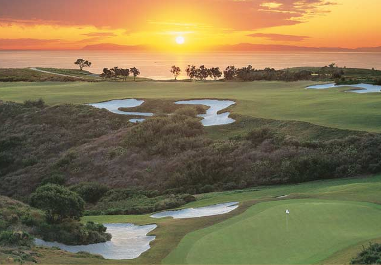 Golf Course Photo, Pelican Hill Golf Club, Ocean North Course, Newport Beach, 92657