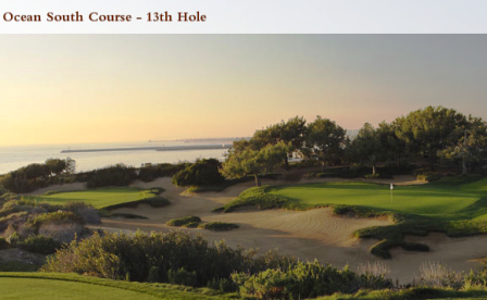 Golf Course Photo, Pelican Hill Golf Club, Ocean South Course, Newport Beach, 92657