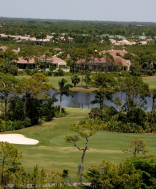 Bonita Bay Club West, Bay Island Golf Course, Bonita Springs, Florida, 34134 - Golf Course Photo