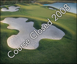 Golf Course Photo, Three Oaks Golf Course, CLOSED 2008, Harlem, 30814