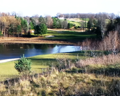 Mistwood Golf Course -Red-Blue,Lake Ann, Michigan,  - Golf Course Photo