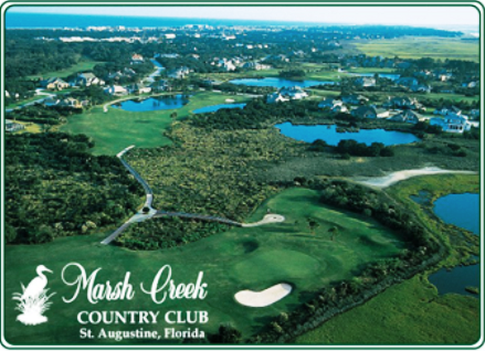 Marsh Creek Country Club,Saint Augustine, Florida,  - Golf Course Photo
