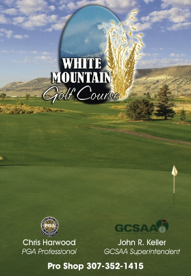 White Mountain Golf Course, Rock Springs, Wyoming, 82901 - Golf Course Photo