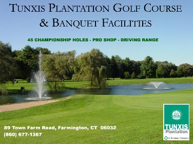 Tunxis Plantation Country Club -Green,Farmington, Connecticut,  - Golf Course Photo