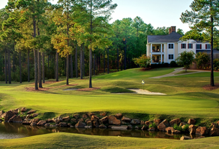 Talamore Golf Resort, Mid South Course,Southern Pines, North Carolina,  - Golf Course Photo
