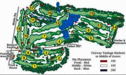 Whispering Pines Golf Course, Meadville, Pennsylvania, 16335 - Golf Course Photo
