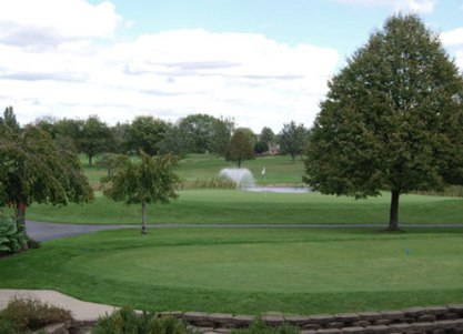 Golf Course Photo, Hillview Country Club, Franklin, 46131