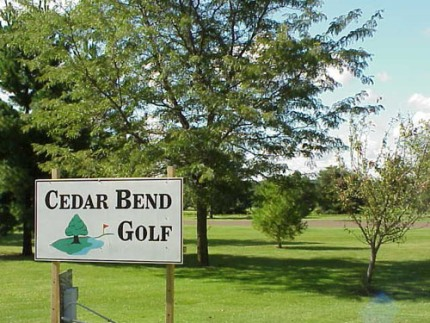 Golf Course Photo, Cedar Bend Golf, Charles City, 50616