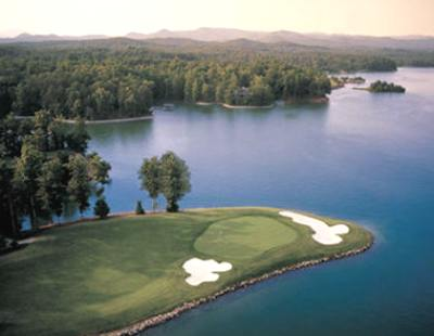 The Cliffs at Keowee, Vineyards Course,Sunset, South Carolina,  - Golf Course Photo