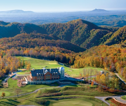 The Highland Course At Primland Resort, Meadows of Dan, Virginia,  - Golf Course Photo