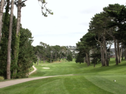Golf Course Photo, Lake Merced Golf Club, Daly City, 94015