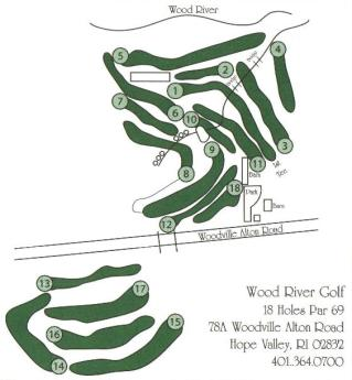 Wood River Golf Course,Hope Valley, Rhode Island,  - Golf Course Photo