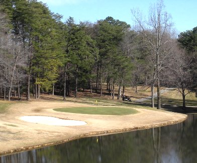 Pleasant Ridge Golf Course, Greensboro, North Carolina, 27409 - Golf Course Photo