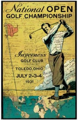 Golf Course Photo, Inverness Club, Toledo, 43615