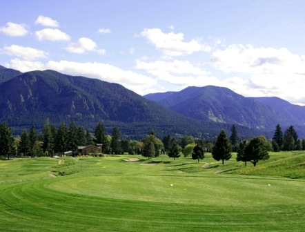Golf Course Photo, Elks Ridge Golf Course at Carson Hot Springs Resort, Carson, 98610