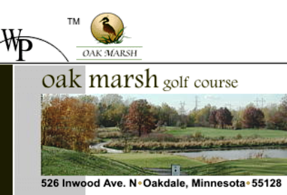 Golf Course Photo, Oak Marsh Golf Course, Oakdale, 55128